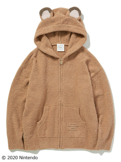 【Animal Crossing New Horizons】Character Hoodie (BROWN)