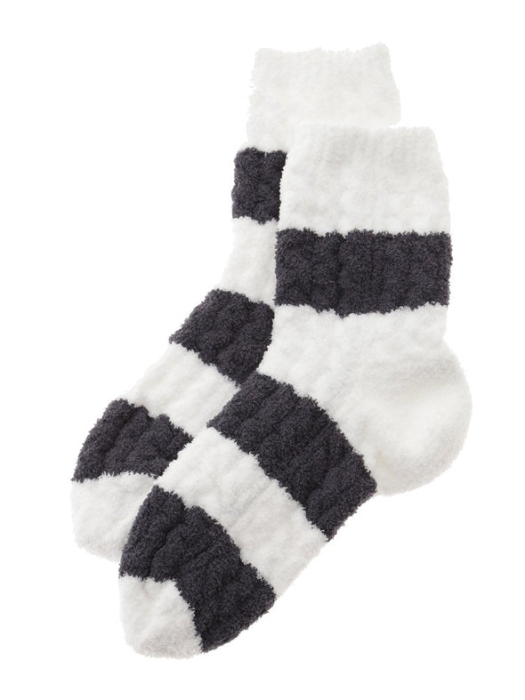 HOMME Striped Aran Socks (PMGS185909)