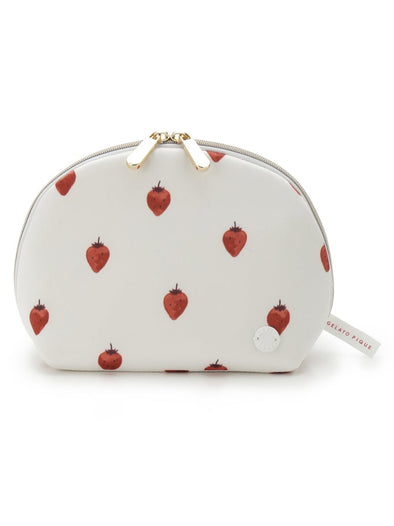 【PARIYA】Strawberry Satin Pouch