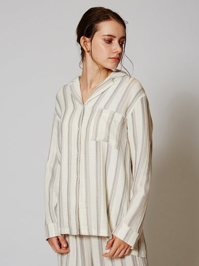 Triple Layered Gauze Shirt