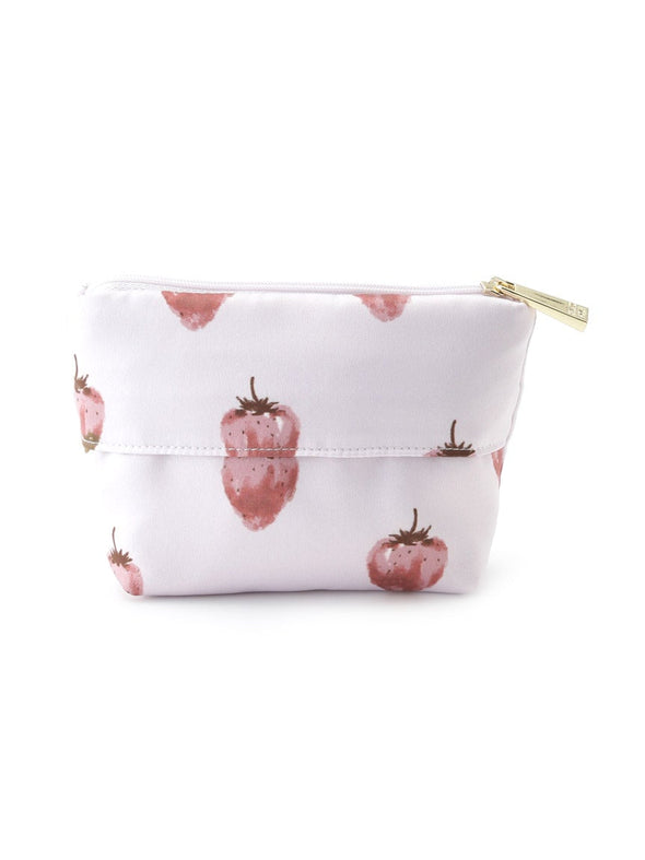 Strawberry Chocolate Satin Tissue Pouch