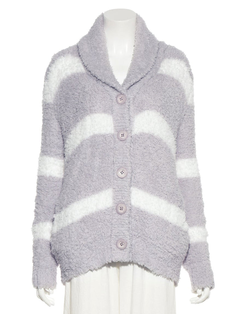 Gelato Striped Shawl Cardigan (PWNT185066)