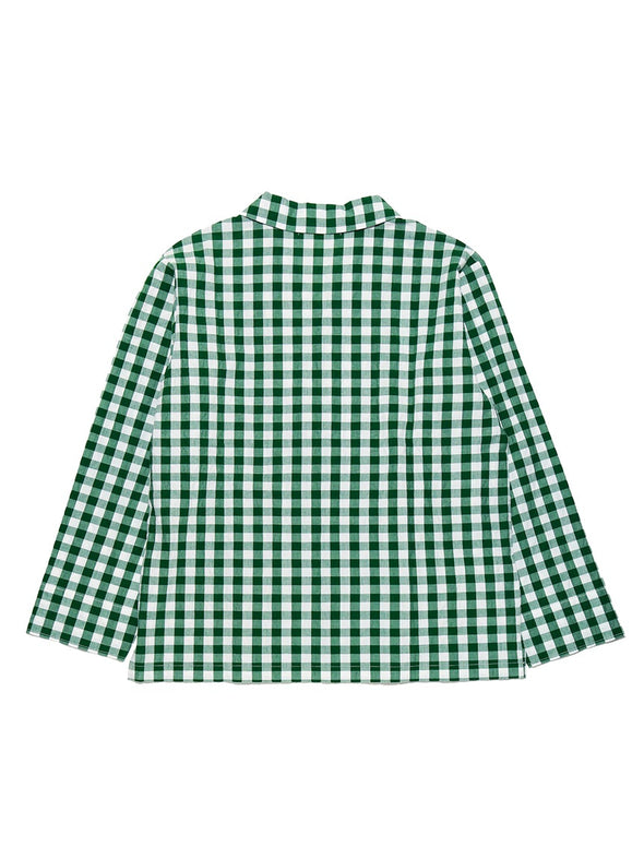 HOMME Gingham Check Shirt (PMFT191937)
