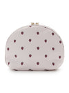 Strawberry Motif Pouch