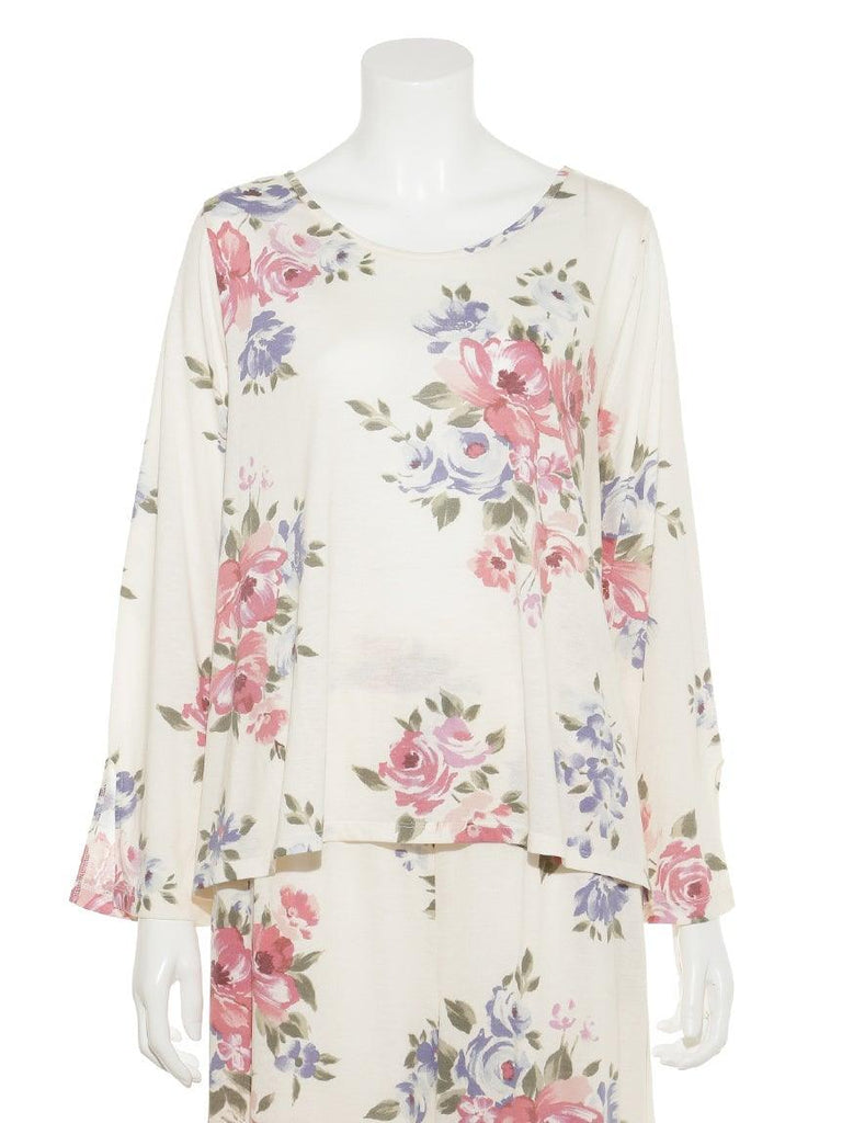 Big Floral Pullover (PWCT175382)
