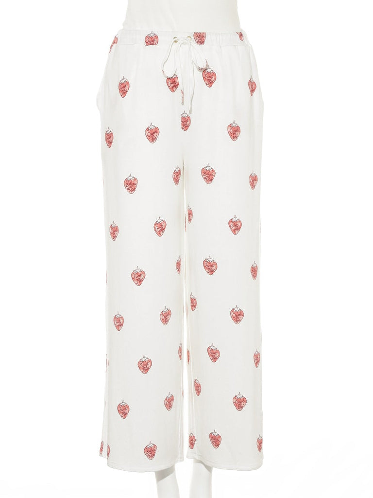 Strawberry Logo Pants (PWCP185281)