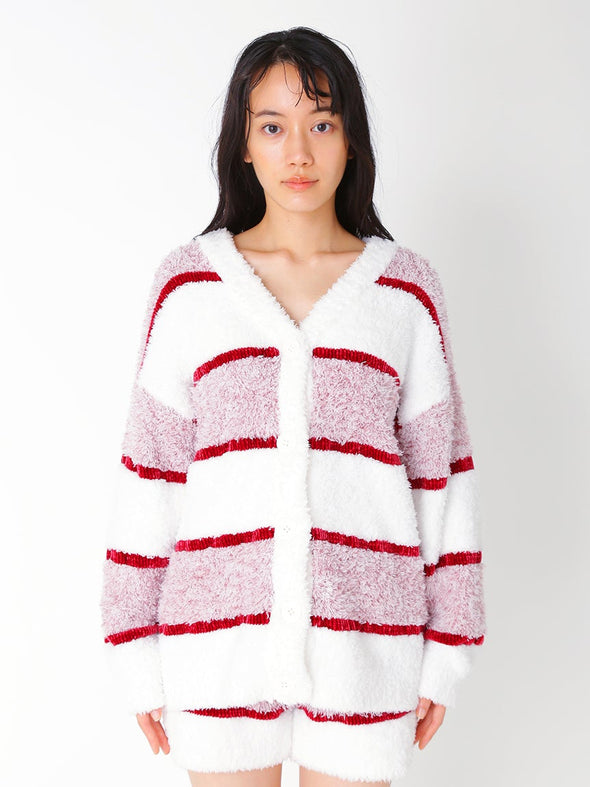 【PARIYA】 Cake Border Cardigan
