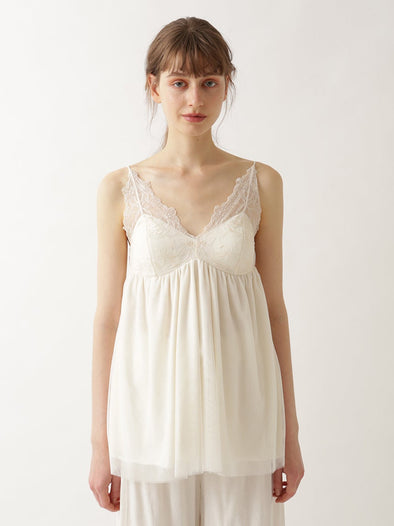 【Mucha and The Flowers】Lily Lace Camisole