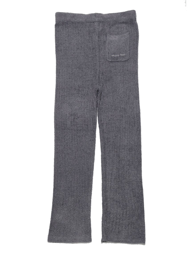 HOMME Hot Smoothie Ribbed Pants (PMNP185905)