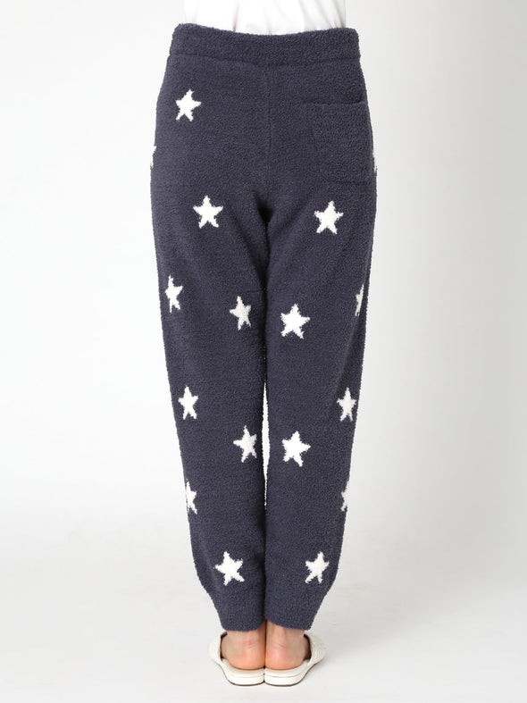 Powder Star Jacquard Long Pants