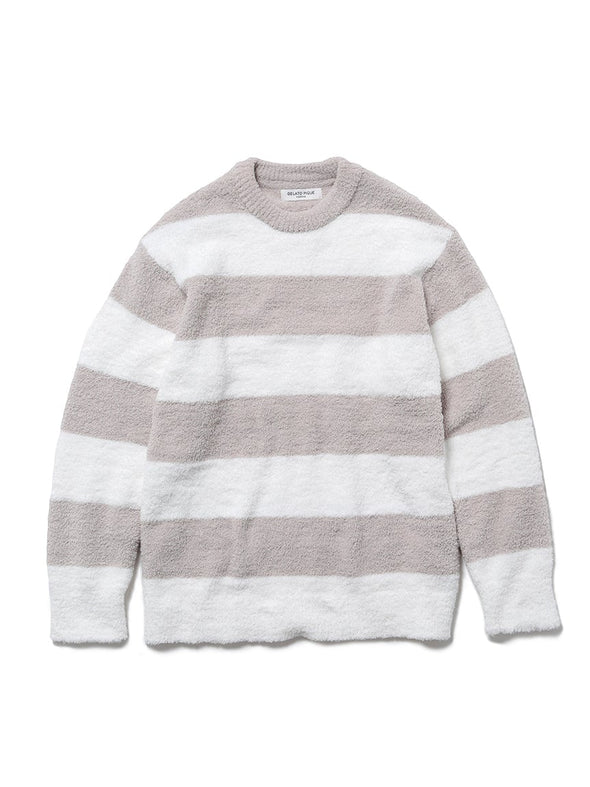 HOMME Powder 2-Border Pullover