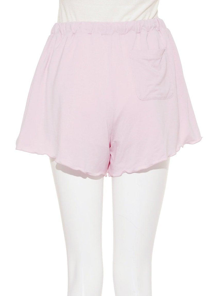 Cherry Blossom One Point Short Pants (PWCP191226)