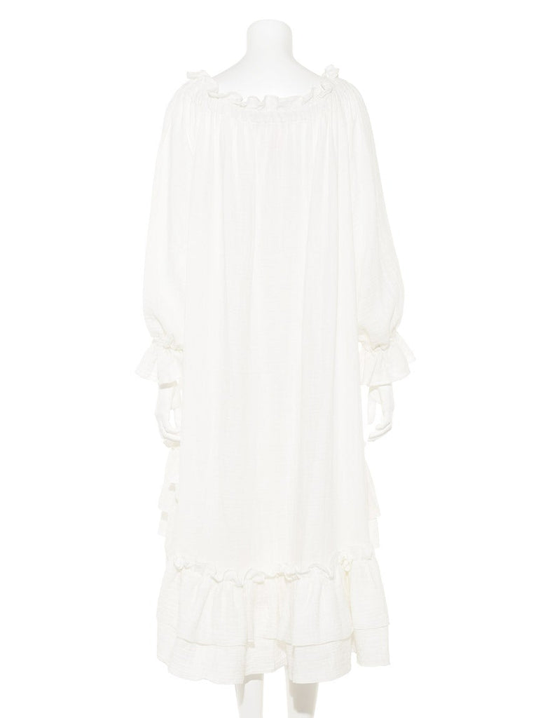 【10th】Double Gauze Dress (PWFO185365)