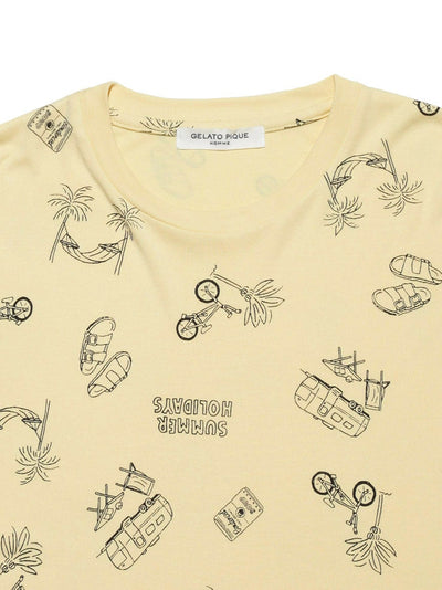 HOMME Summer Holidays Smooth Tee (PMCT182945)