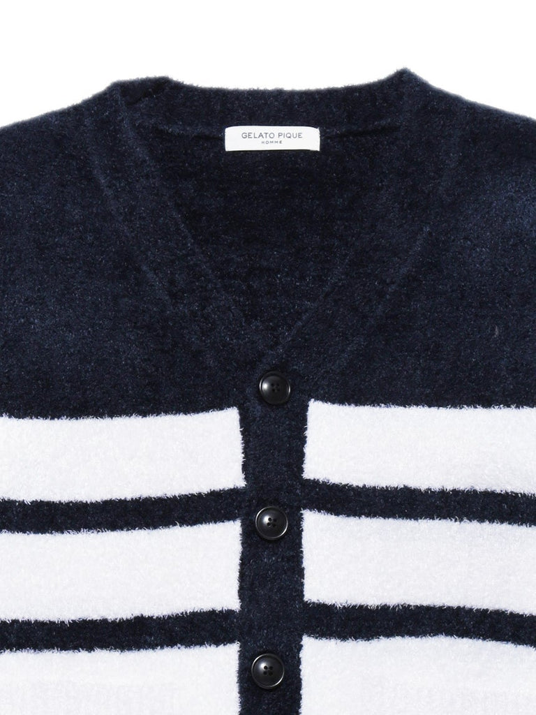 HOMME Smoothie Stripe Cardigan (PMNT175936)