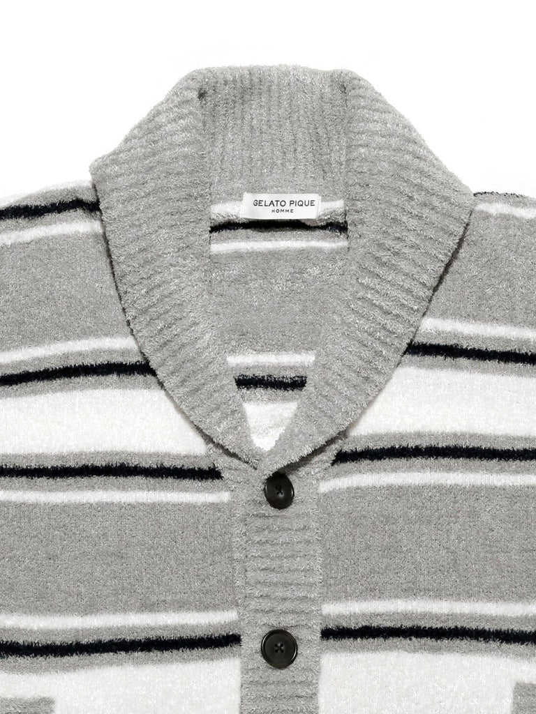 HOMME Smoothie Striped Cardigan (PMNT181917)