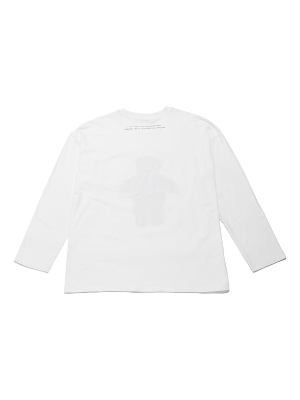 【X'mas Limited】HOMME Bear One-Point Pullover for Men