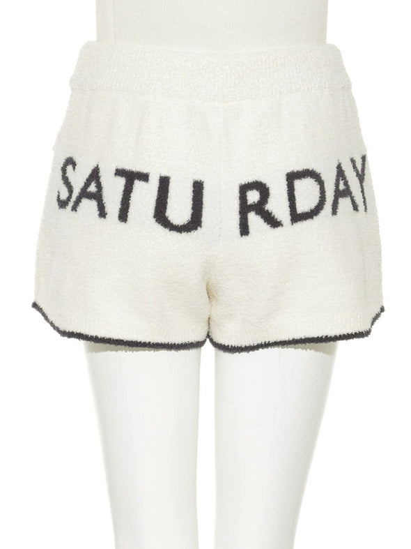 Good Saturday Pajama Party Shorts(PWNP181071)