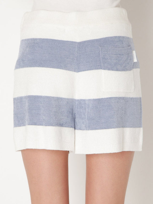 【Polar Bear Fair】Smoothie Light Border Shorts