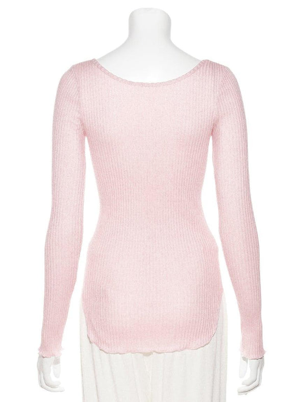 Cotton Silk Pullover