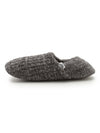 HOMME Rib Moco Room Shoes