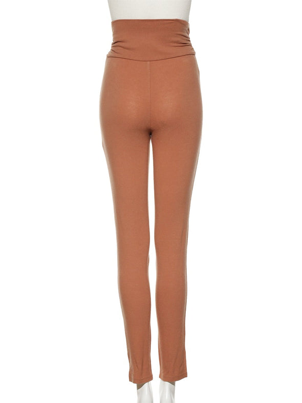 Peach Skin Stitch Leggings