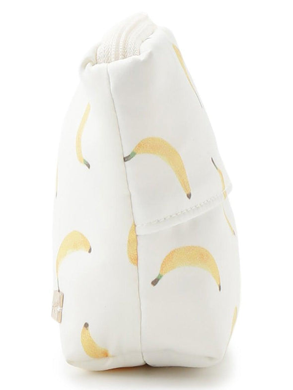 Banana Motif Tissue Small Pouch