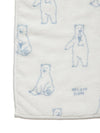 【Polar Bear Fair】Recycle Moco Polar Bear Bath Towel