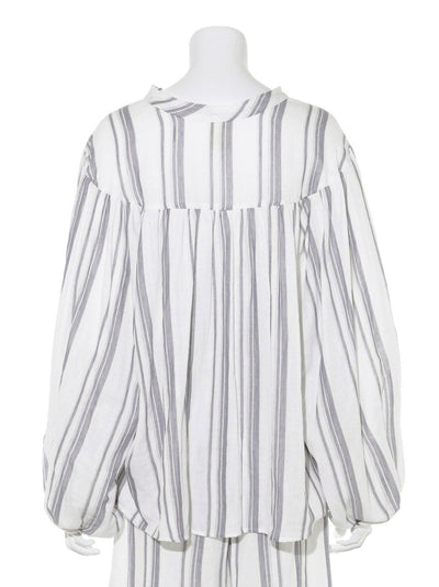 Striped Gauze Pullover (PWFT181336)