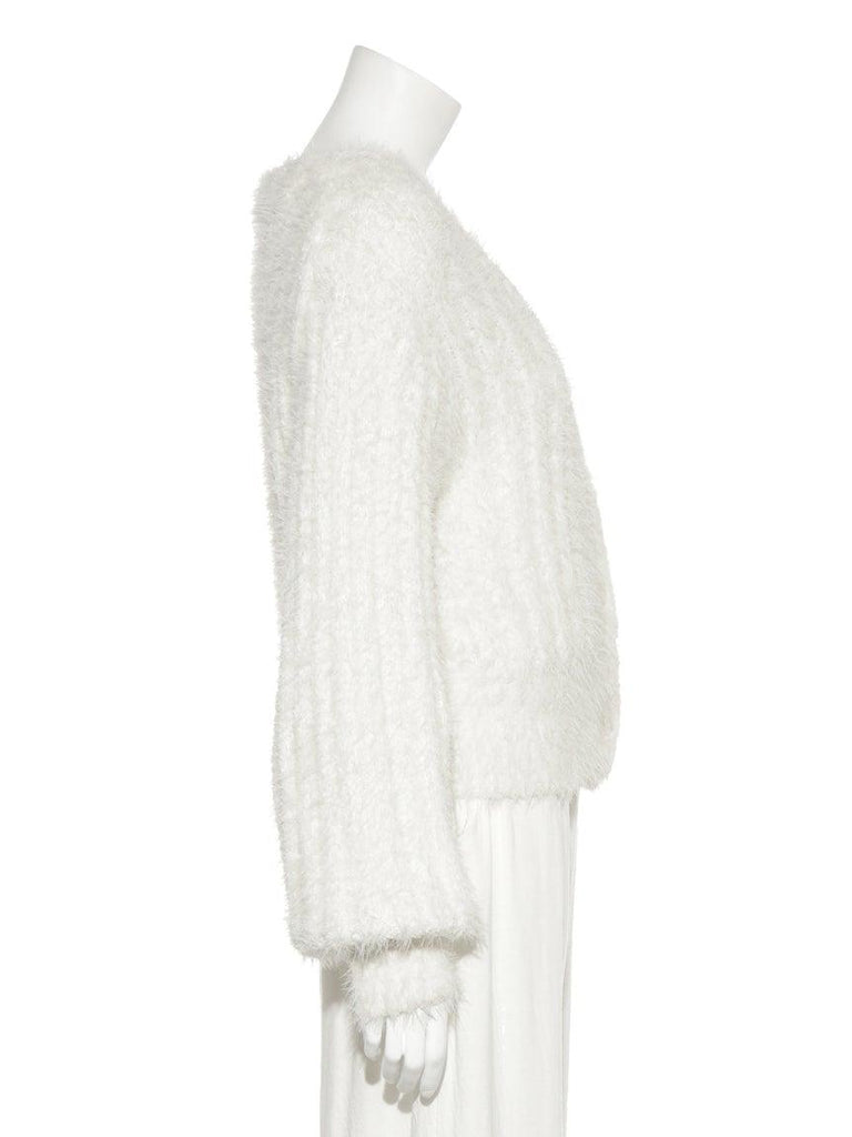 Feather Ribbed Cardigan (PWNT185142)