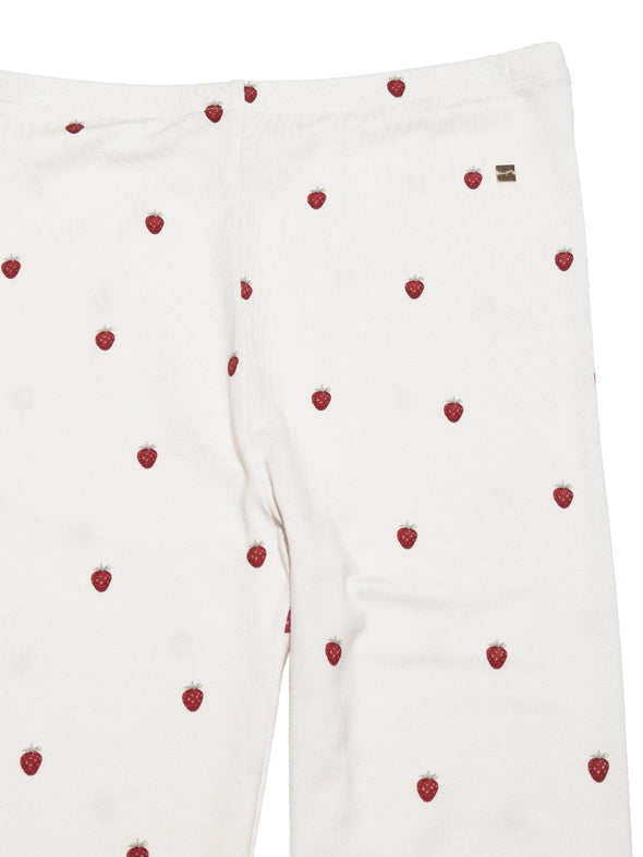 Strawberry Motif Leggings
