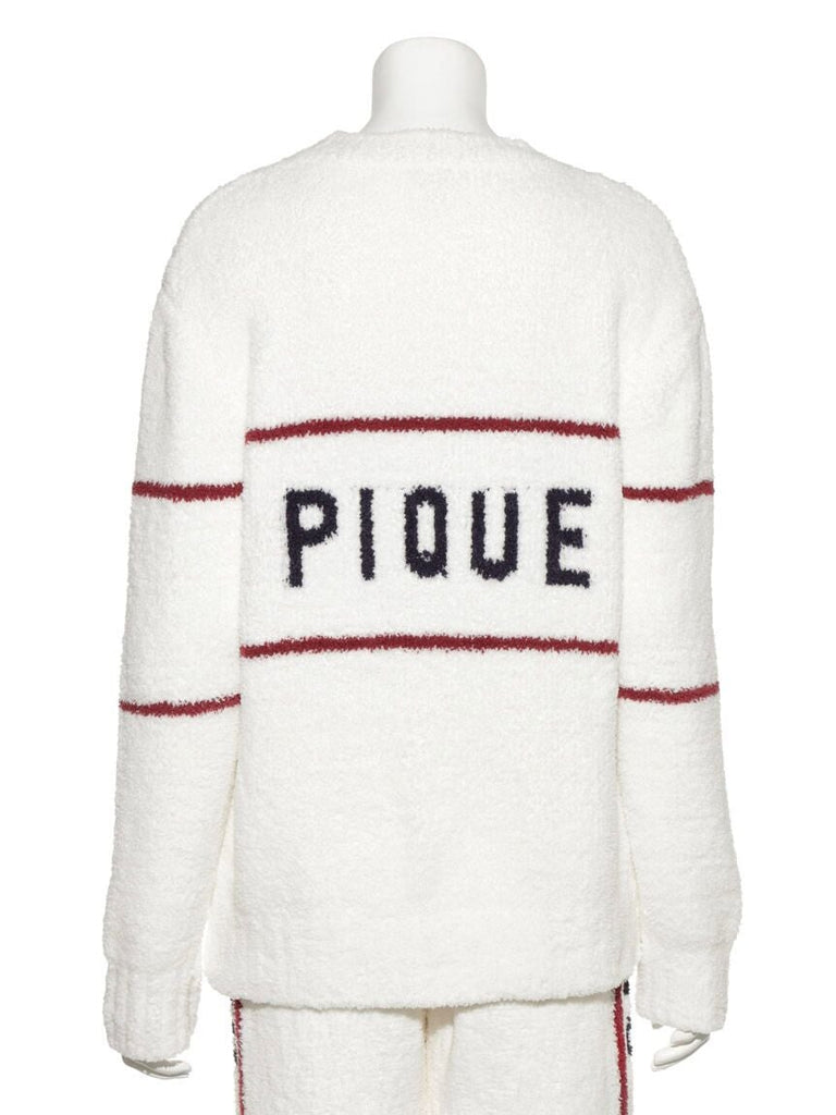 Powder Street-style Jacquard Pullover  (PWNT185045)