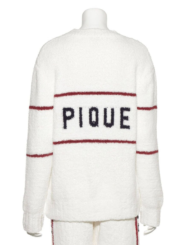 Powder Street-style Jacquard Pullover