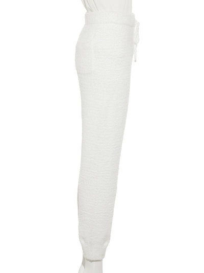 Powder Logo Jacquard Long Pants (PWNP175052)