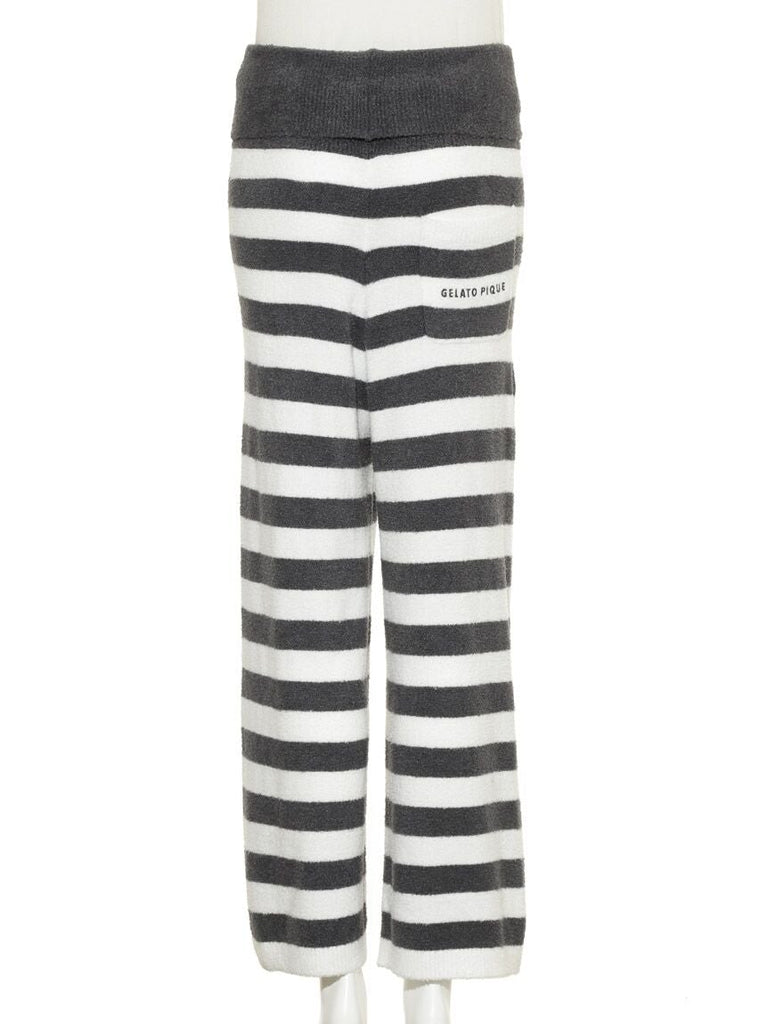 Hot Smoothie Striped Pants (PWNP185016)