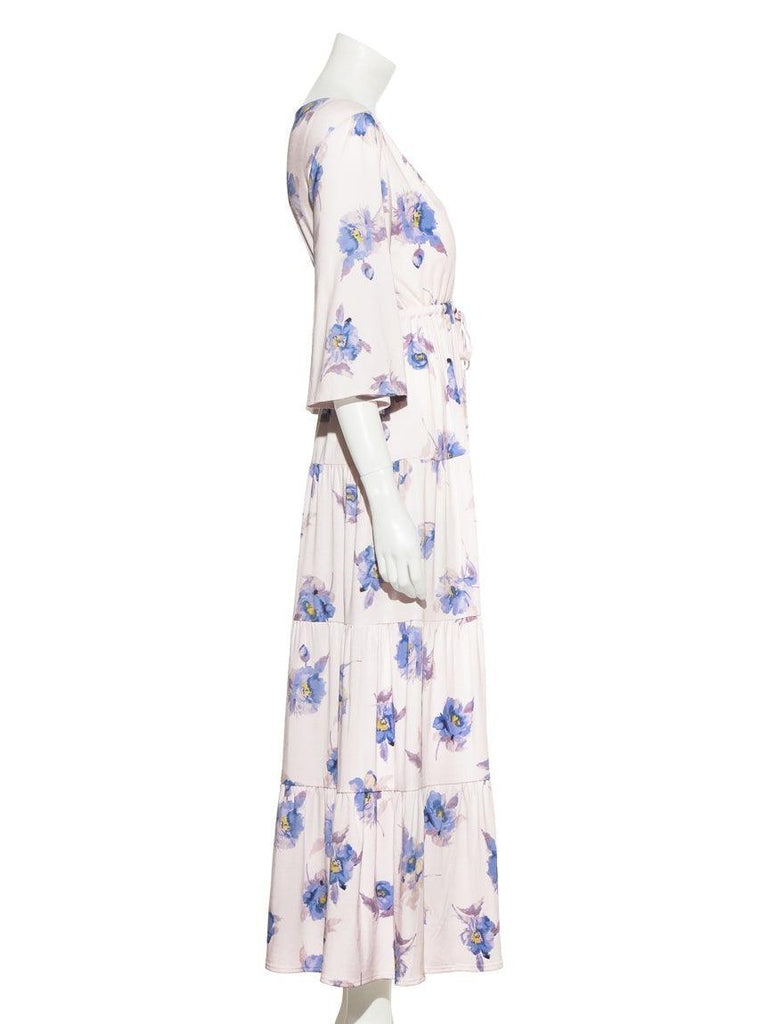 Big Flower Long Dress (PWCO191239)