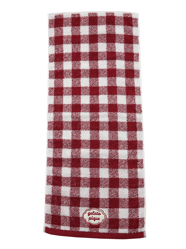 Gingham Check Face Towel (PWGG191637)