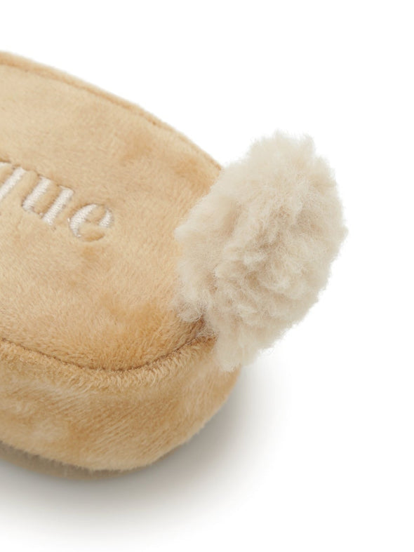 【Halloween】Dog Fur-like Room Shoes