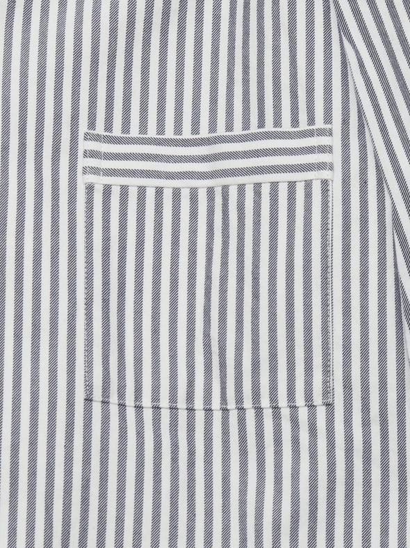 HOMME Striped Logo Shirt