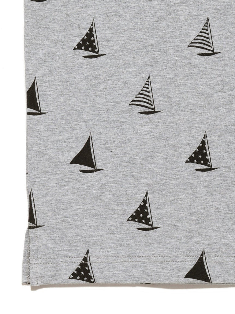 HOMME Yacht Pattern Henry Neck Pullover (PMCT182936)