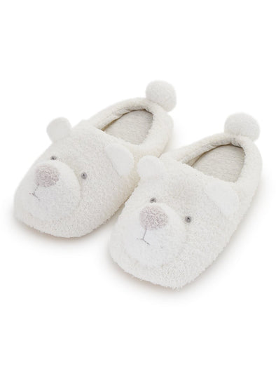 【Polar Bear Fair】Recycle Moco Polar Bear Room Shoes