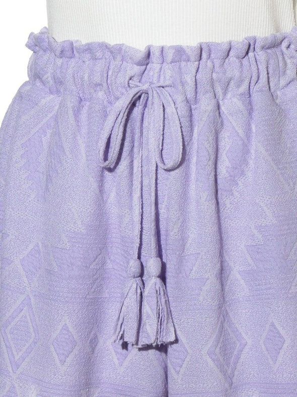 Ethnic Jacquard Shorts