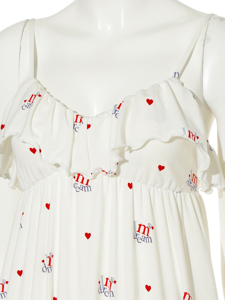 Heart Logo Dress (PWCO191330)