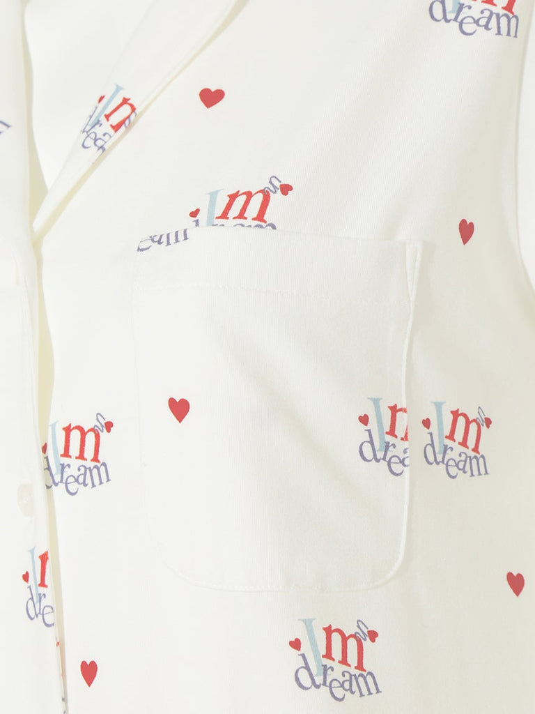 Heart Logo Shirt (PWCT191327)
