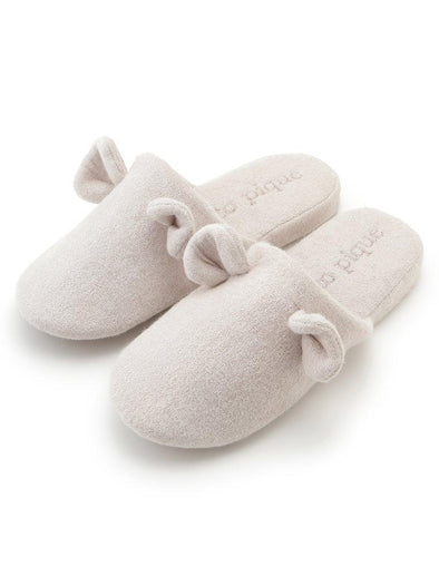 Cotton Pile Bear Room Shoes