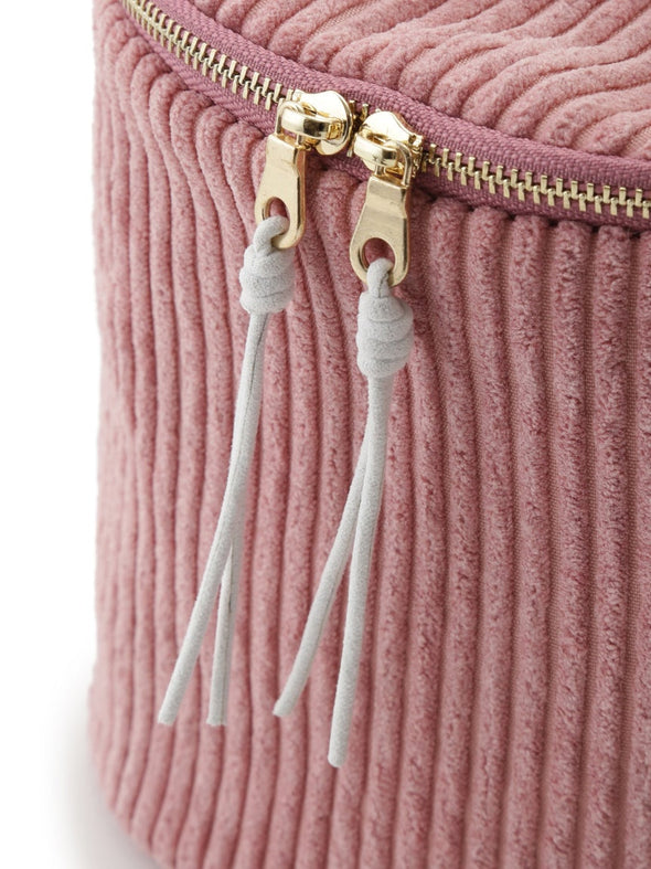 Ribbed Vanity Pouch