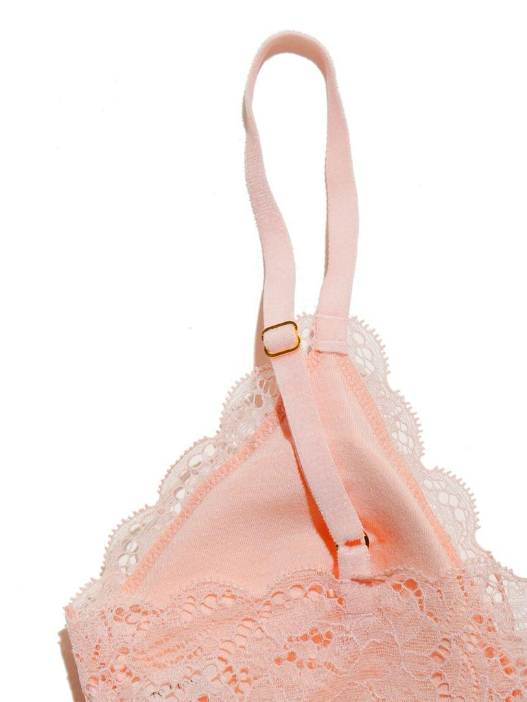 Flower Lace Bra & Shorts (PWCT185308)