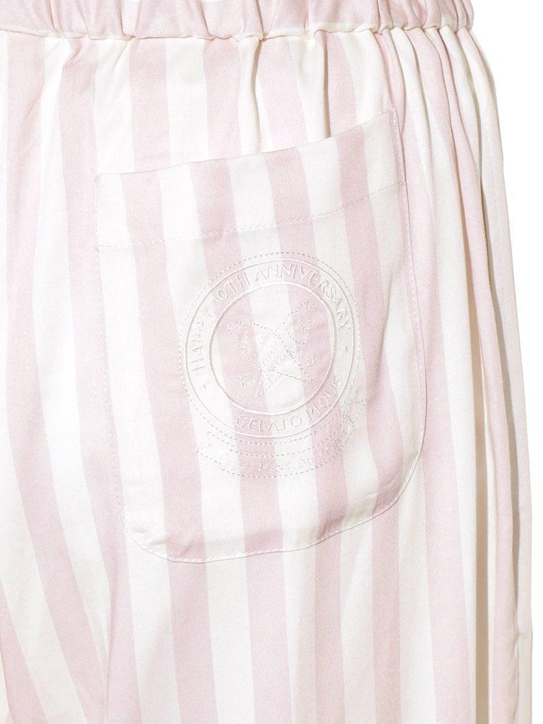 Anniversary Series Striped Satin Pants (PWFP185368)