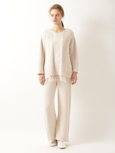 'Airy Moco x Cotton' Long Pants