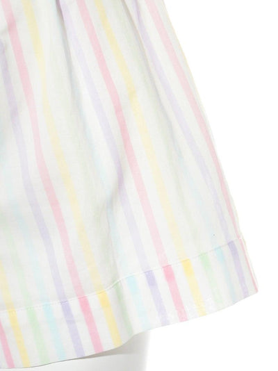 Cotton Candy Striped Shorts (PWFP181272)
